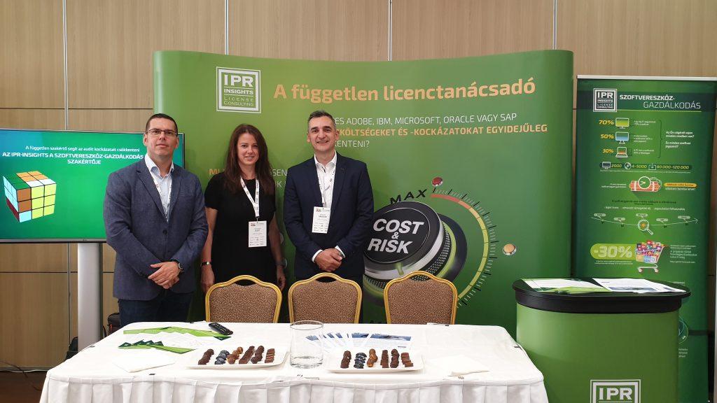 IPR-Insights stand a CIO Hungary 2020-on